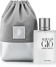 "Fragrances, Perfumes, Cosmetics Gift Pouch for Perfume, grey ""Perfume Dress"" - MakeUp"