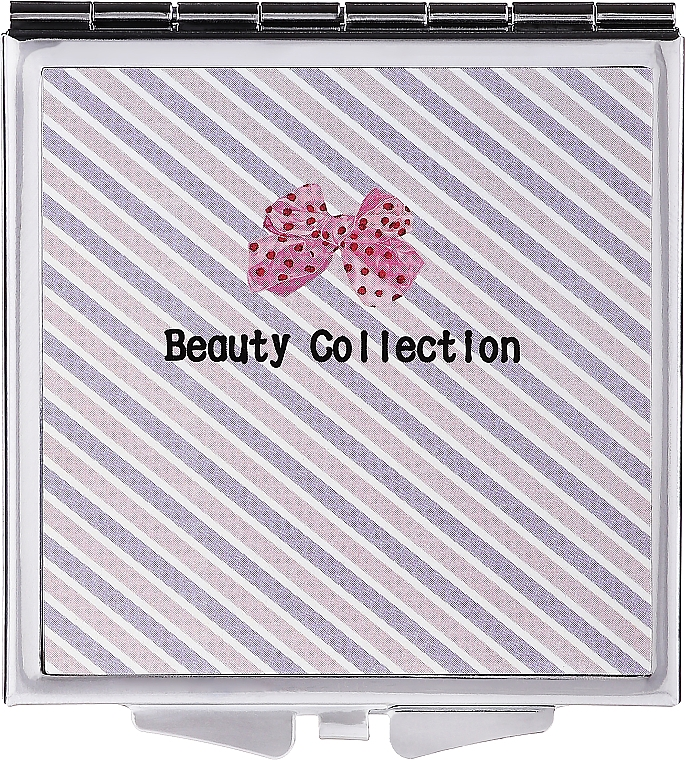 Pocket Mirror 85604, 6cm, striped - Top Choice Beauty Collection Mirror