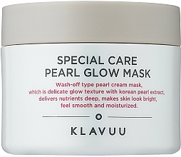 Fragrances, Perfumes, Cosmetics Clay Face Mask - Klavuu Special Care Pearl Glow Mask