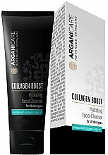 Fragrances, Perfumes, Cosmetics Facial Cleanser - Arganicare Collagen Boost Hydrating Facial Cleanser