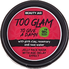 Fragrances, Perfumes, Cosmetics Lifting Jelly Mask - Beauty Jar Too Glam To Give A Damn Face Mask