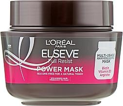 Fragrances, Perfumes, Cosmetics Strengthening Mask for Weak Hair - L'Oreal Paris Elseve Full Resist Power Mask
