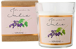Fragrances, Perfumes, Cosmetics Verbena Scented Candle - Ambientair Le Jardin de Julie Verveine