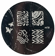 Fragrances, Perfumes, Cosmetics Stamping Plate, 5 designs - Ronney Professional