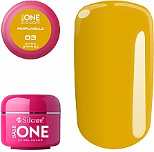 Fragrances, Perfumes, Cosmetics Scented Gel Polish - Silcare Base One Perfumelle UV Gel Color