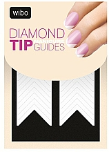 Fragrances, Perfumes, Cosmetics French Manicure Stensil-Sticker - Wibo Diamond Manicure Tip Guides
