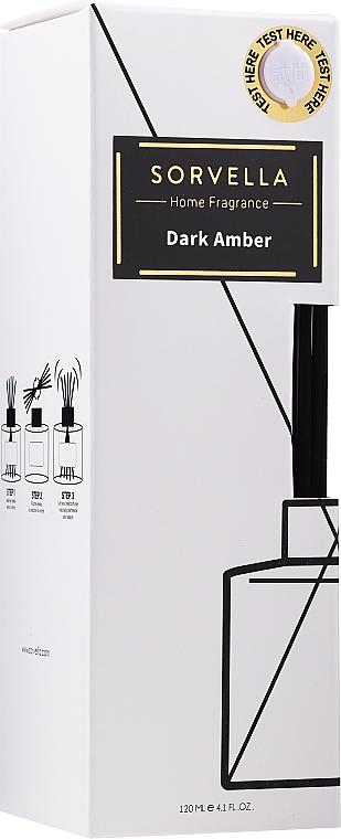 Dark Amber Reed Diffuser - Sorvella Perfume Dark Amber — photo N1