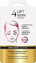 Fragrances, Perfumes, Cosmetics Eye Patches - AA Cosmetics Lift 4 Skin Hydrogel Under-Eye Patches Collagen and Gold