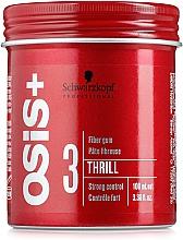 Fragrances, Perfumes, Cosmetics Styling Hair Cocktail-Gel - Schwarzkopf Professional Osis+ Thrill Texture Fibre Gum
