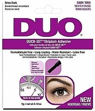 Fragrances, Perfumes, Cosmetics Eyelash Adhesive - Ardell Duo Quick Set Dark Tone
