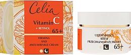 Fragrances, Perfumes, Cosmetics Anti-Aging Day and Night Face Cream 65+ - Celia Witamina C