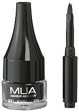 Fragrances, Perfumes, Cosmetics Gel Eyeliner - MUA Gel Eyeliner