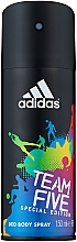 Fragrances, Perfumes, Cosmetics Adidas Team Five - Deodorant