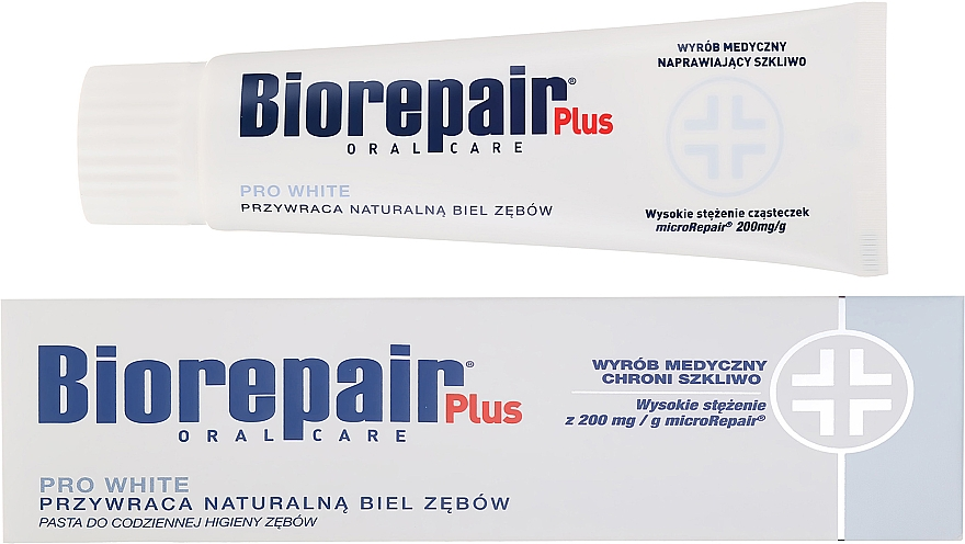 Whitening Toothpaste - BioRepair Plus PRO White
