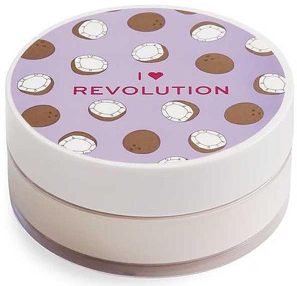 Face Baking Powder Coconut - I Heart Revolution Loose Baking Powder Coconut