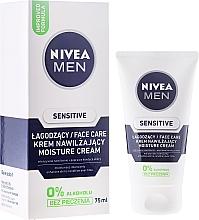 Fragrances, Perfumes, Cosmetics After Shave Cream-Balm for Sensitive Skin - Nivea For Men Sensitive Moisture Cream