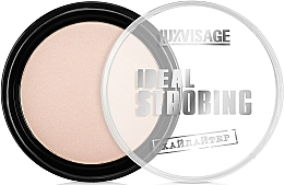 Fragrances, Perfumes, Cosmetics Compact Face Highlighter - Luxvisage Ideal Strobing