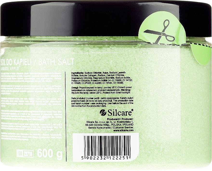 "Bath Salt ""Apple"" - Silcare Quin Bath Salt Apple — photo N4"