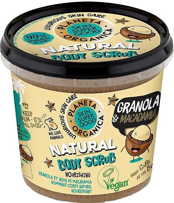 "Body Scrub ""Granola & Macadamia"" - Planeta Organica Granola & Macadamia Body Scrub"