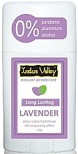 "Fragrances, Perfumes, Cosmetics Deodorant Stick ""Lavender"" - Indus Valley Lavender Deodorant Stick"