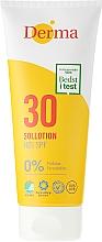 Fragrances, Perfumes, Cosmetics Sun Protective Tanning Lotion - Derma Sun Lotion SPF30