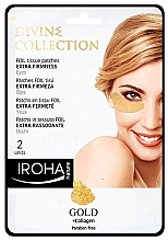Fragrances, Perfumes, Cosmetics Eye Patches - Iroha Nature Gold Patches