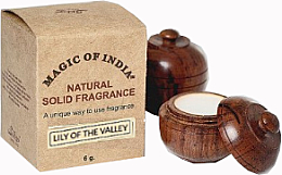 """Fragrances, Perfumes, Cosmetics Natural Solid Fragrance Cream """"Lily Of The Valley"""" - Shamasa"""
