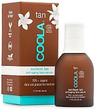 Fragrances, Perfumes, Cosmetics Face Serum - Coola Sunless Tan Anti-Aging Face Serum