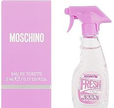 Fragrances, Perfumes, Cosmetics Moschino Pink Fresh Couture - Eau de Toilette (mini size)
