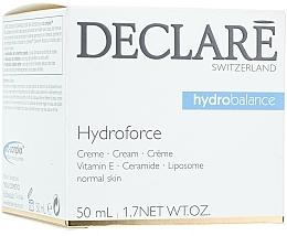 Fragrances, Perfumes, Cosmetics Moisturizing Vitamin E Cream - Declare Hydroforce Cream