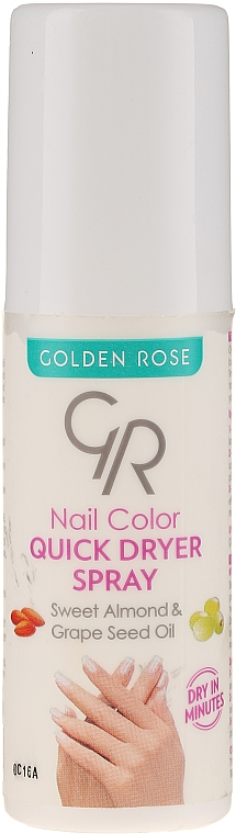Nail Dryer Spray - Golden Rose Nail Quick Dryer Spray