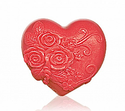 "Fragrances, Perfumes, Cosmetics Glycerin Soap ""Heart in love"", red - Bulgarian Rose Soap"