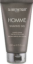 Fragrances, Perfumes, Cosmetics Shaving Gel for All Hair Types - La Biosthetique Homme Shaving Gel