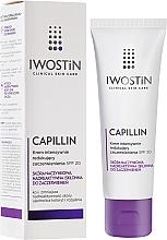 Fragrances, Perfumes, Cosmetics Firming Face Cream - Iwostin Capillin Intensive Cream SPF 20