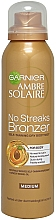 Fragrances, Perfumes, Cosmetics Self Tan Body Mist - Garnier Ambre Solaire No Streaks Bronzer Medium Self Tan Body Mist