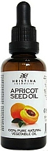 Fragrances, Perfumes, Cosmetics Apricot Seed Oil - Hristina Cosmetics Pure Apricot Seed Oil
