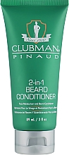 Fragrances, Perfumes, Cosmetics Beard Conditioner - Clubman Pinaud 2-in-1 Beard Conditioner