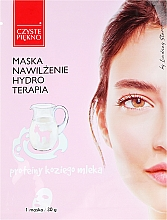 Fragrances, Perfumes, Cosmetics Face Mask with Goat Milk Proteins - Czyste Piekno Hydro Therapia Face Mask