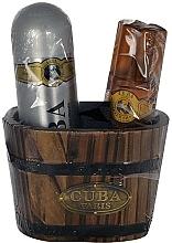 Fragrances, Perfumes, Cosmetics Cuba Gold - Set (ash/lot/100ml + deo/200ml)