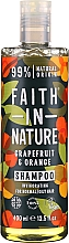 Fragrances, Perfumes, Cosmetics Shampoo for Normal and Greasy Hair 'Grapefruit and Orange' - Faith In Nature Grapefruit & Orange Shampoo