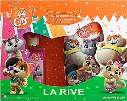 Fragrances, Perfumes, Cosmetics La Rive 44 Cats - Set (edp/50ml+gel/sh/250ml)