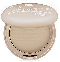 Fragrances, Perfumes, Cosmetics Mattifying Compact Powder - Bell 2 Skin Pocket Pressed Powder Mat