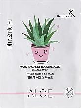 Fragrances, Perfumes, Cosmetics Face Sheet Mask - Beauty Kei Micro Facialist Boosting Aloe Essence Mask