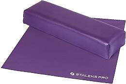 "Fragrances, Perfumes, Cosmetics Armrest ""Mini"" with Mat, purple - Staleks Pro Expert 10 Type 3"