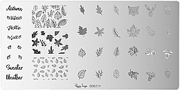 Fragrances, Perfumes, Cosmetics Stamping Plate - Peggy Sage Stamping Plate (1pcs)