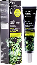 Fragrances, Perfumes, Cosmetics Detox Face Mask - Tolpa Dermo Face Sebio Black Detox Mask