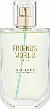 Fragrances, Perfumes, Cosmetics Oriflame Friends World For Her - Eau de Toilette