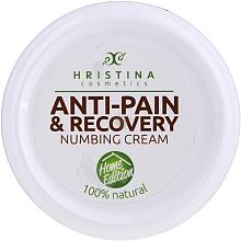 Fragrances, Perfumes, Cosmetics Anti-Pain Cream - Hrisnina Cosmetics Anti-pain & Recovery Numbing Cream