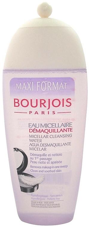 Makeup Removal Micellar Water - Bourjois Micellar Cleansing Water — photo N1