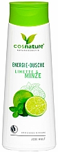 Fragrances, Perfumes, Cosmetics Energy Mint & Lime Shower Gel - Cosnature Shower Gel Energy Mint & Lime